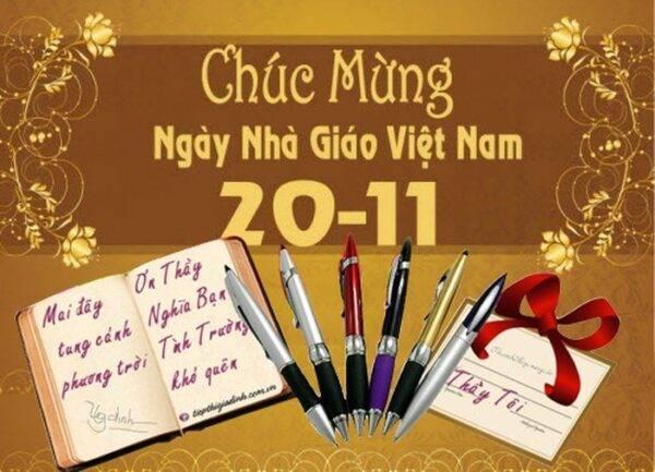 Chương trình Chào mừng ngày Nhà Giáo Việt Nam 20/11/2019