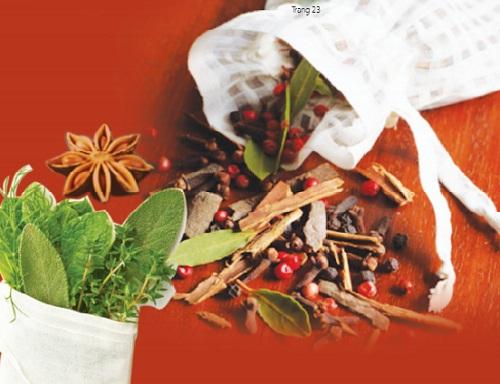 Túi thuốc bảo vệ sức khỏe mùa đông