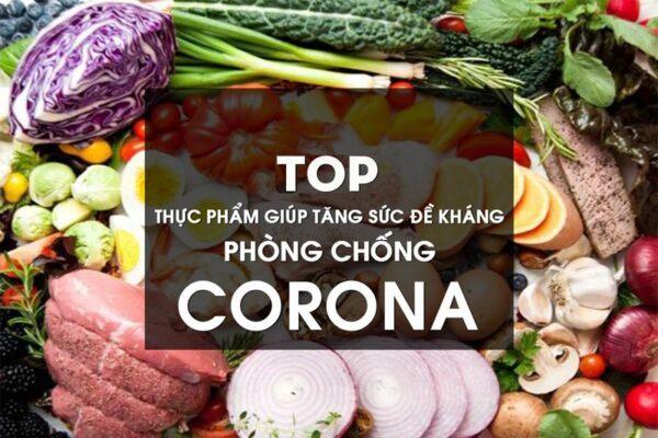 Thực phẩm giúp tăng sức đề kháng phòng dịch bệnh do virut corona