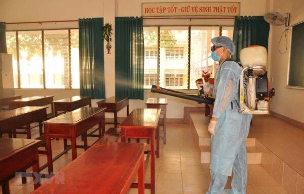 Bộ GDĐT ban hành bộ tiêu chí đánh giá mức độ an toàn phòng, chống dịch COVID-19 trong trường học