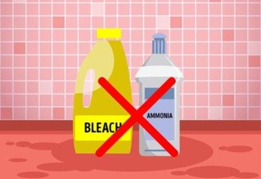 Những điều cấm kỵ khi dùng thuốc tẩy rửa