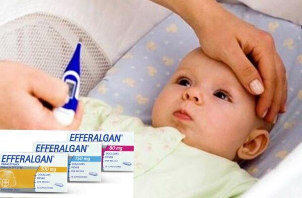 Tác dụng không mong muốn khi sử dụng thuốc đạn hạ sốt cho trẻ