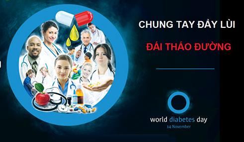 Bệnh viện Bạch Mai hưởng ứng Ngày Đái tháo đường Thế giới