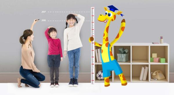 Trẻ em phát triển chiều cao như thế nào?