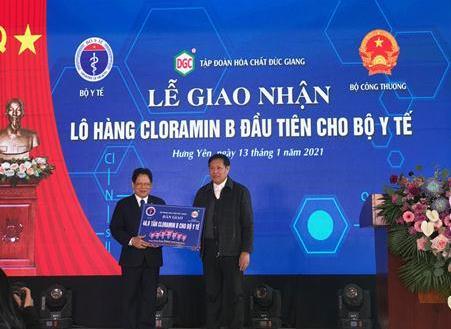 Sản xuất được Cloramin B – Việt Nam đã chủ động hoá chất phòng chống dịch